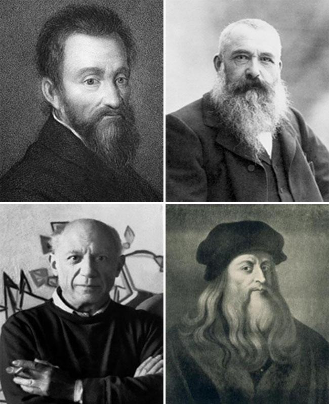 بزرگترین نقاشان تاریخ