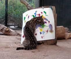 پلنگ هنرمند