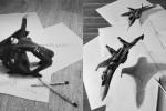 نقاشیهای شگفتانگیز سهبعدی اثر Ramon Bruin