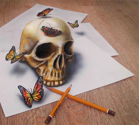 Ramon Bruin 3D Drawings نقاشی سه بعدی