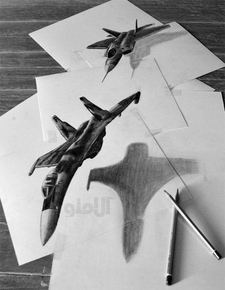 عکس Ramon Bruin 3D Drawings نقاشی سه بعدی