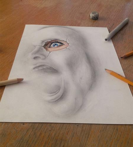 Airbrush Drawings by Ramon Bruin
