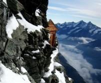 مرتفع ترین کلبه ی کوهستانی دنیا + عکس