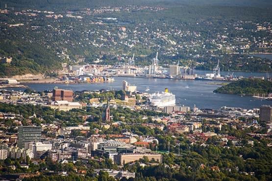 نروژ و چشم اندازی از شهر اسلو