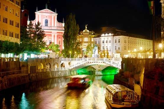 اسلوونی و تصویری دیدنی از شهر لوبلیانا