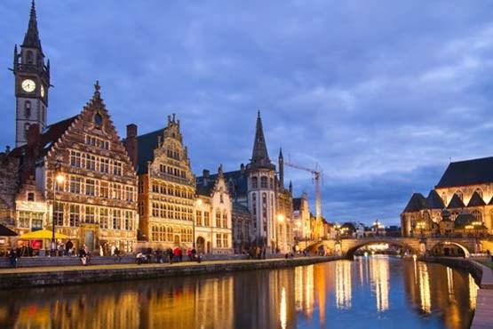 بلژیک و تصویری از شهر بروکسل