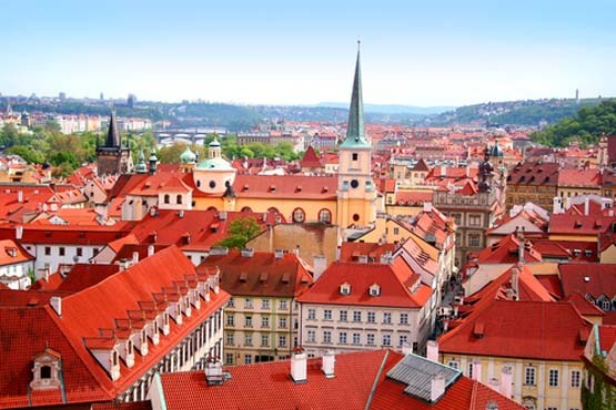 جمهوری چک و منظره دیدنی شهر پراگ