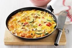 طرز تهیه فریتاتای مرغ و گوجه