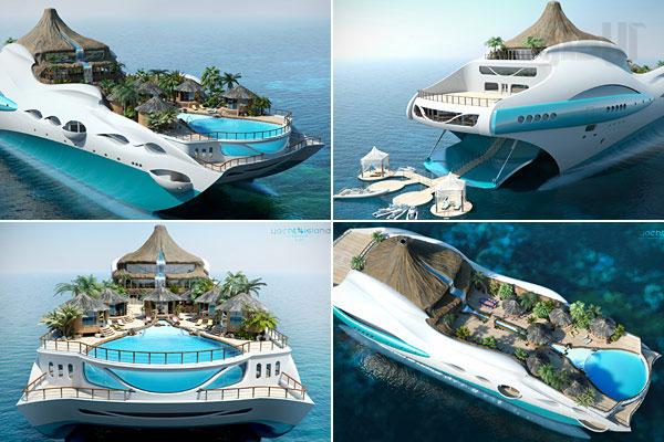 قایق جزیره ای