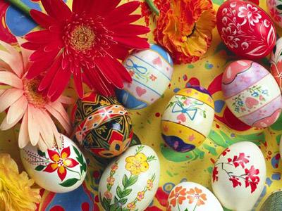 رنگ کردن تخم مرغ برای نوروز
