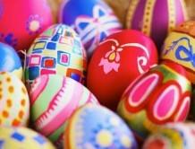 تزیین تخم مرغ رنگی برای نوروز 1396
