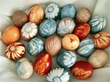 ایده جالب برای رنگ تخم مرغ سفره هفت سین نوروز