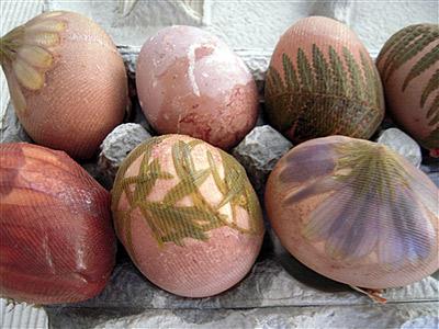 تخم مرغ رنگی عید 9