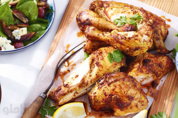 مرغ برشته اسپايسي
