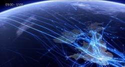 عکسهای شگفت انگیز از مسیر پرواز هواپیماها