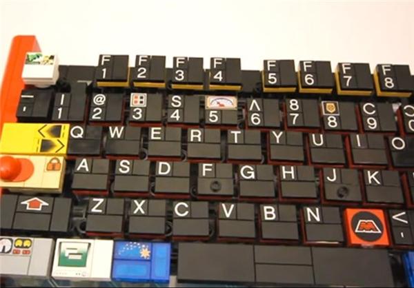 صفحه کلید لگویی