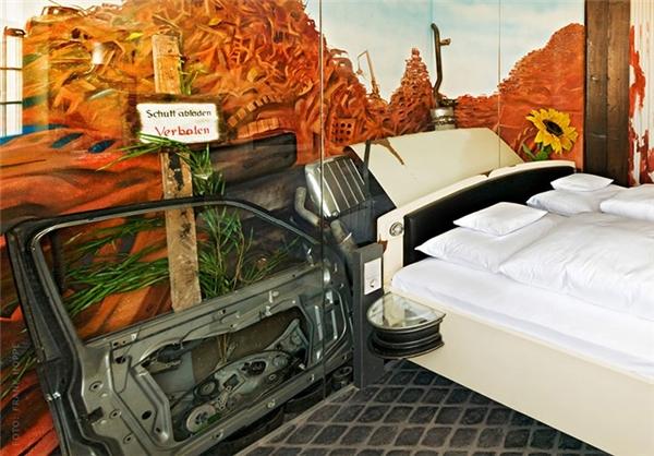 هتلی مختص دوستداران خودرو