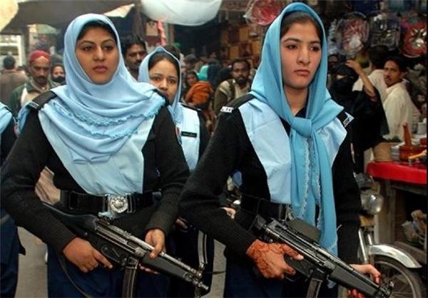 پلیس زن در پاکستان