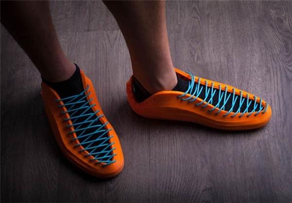 کفش با فناوری چاپ سه بعدی