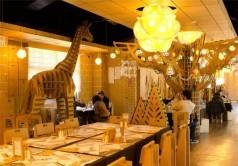 رستوران مقوایی در تایوان + عکس