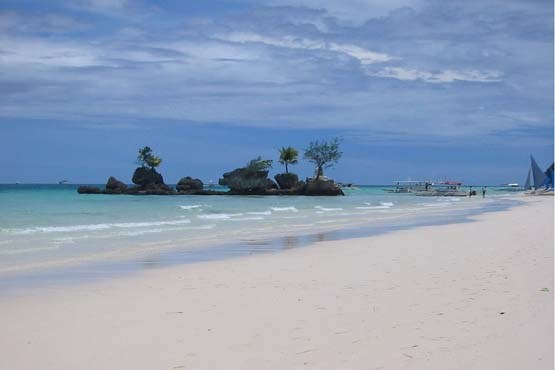 ساحل وایت بیچ بوروکای