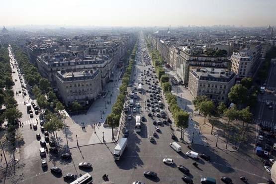 خیابان شانزه لیزه پاریس