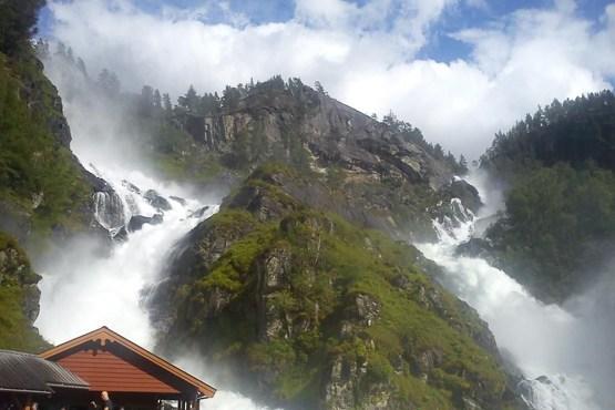 منظره لاتفوس در منطقه اودا در نروژ