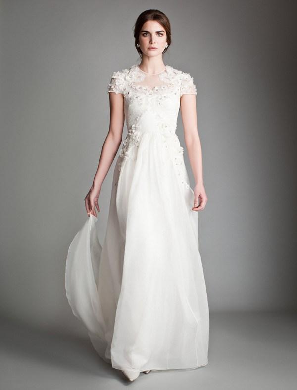 انتخاب لباس عروس بر اساس قد