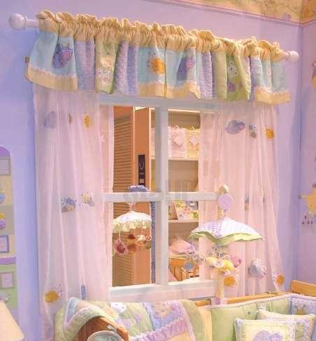 مدل پرده برای اتاق بچه