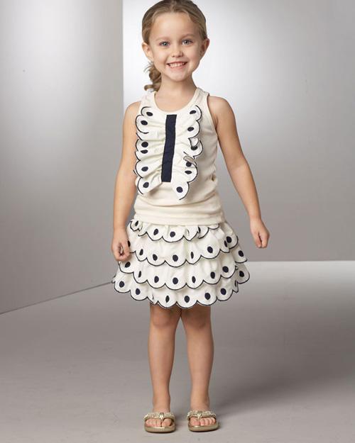 Childish Model 006 مدل جدید لباس دختر بچه