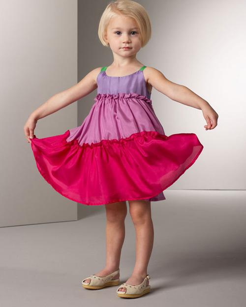 Childish Model 008 مدل جدید لباس دختر بچه