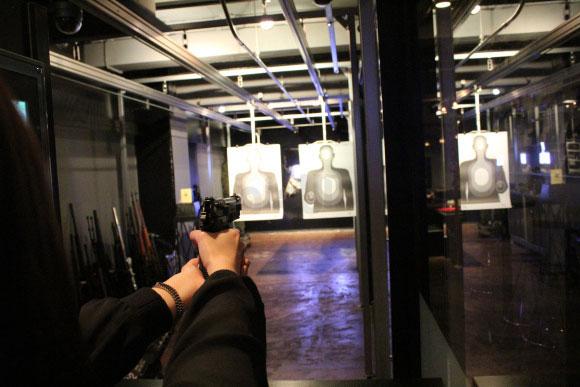 رستورانی برای عاشقان اسلحه + عکس