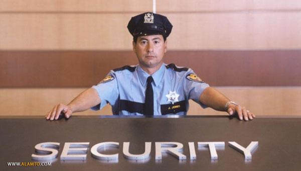 نگهبان امنیتی