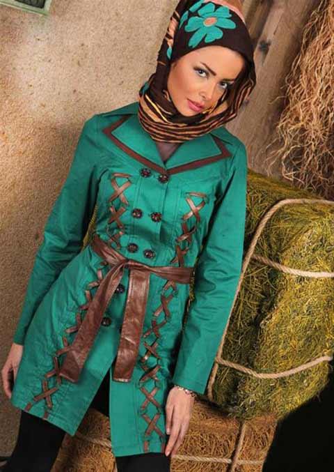 مدل جدید مانتو ایرانی