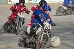 موتوبال؛ ورزشی برای موتورسواران عاشق فوتبال! +عکس