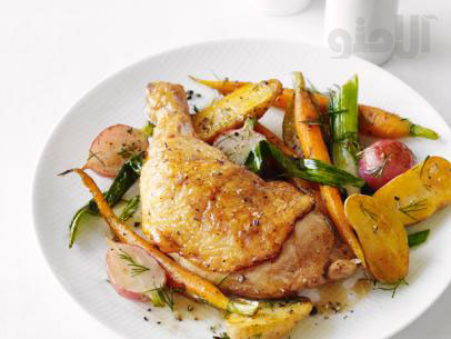 Roast-Chicken-with-Spring-Vegetables