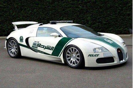 خودروی بوگاتی ویرون در دوبی