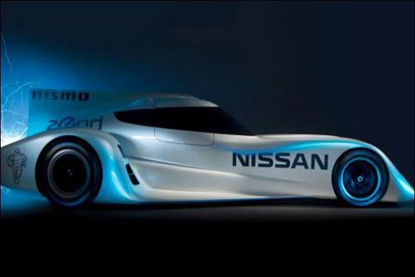 رونمایی سریعترین خودروی مسابقه ای الکتریکی