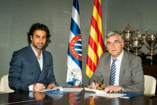 فرهاد مجیدی همکار رسمی باشگاه اسپانیول در خاورمیانه