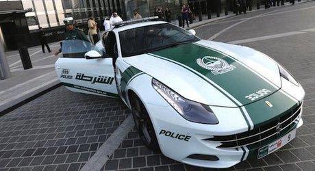 خودروی فراری در دوبی