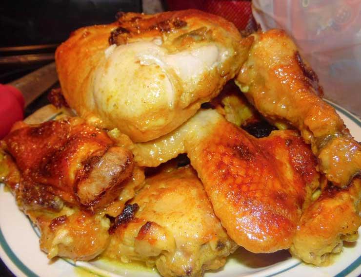 طرز تهیه مرغ عسلی