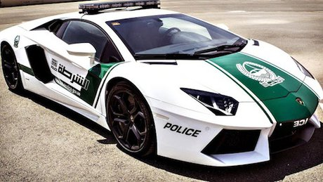 خودروی لامبورگینی در دوبی