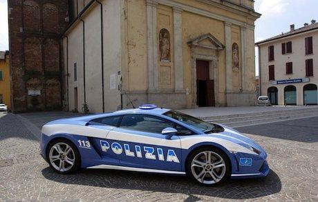 خودروی لامبورگینی در ایتالیا