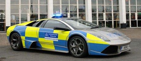 خودروی لامبورگینی در انگلیس