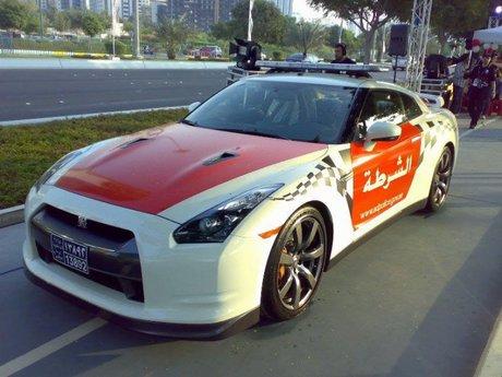 خودروی نیسان در ابوظبی