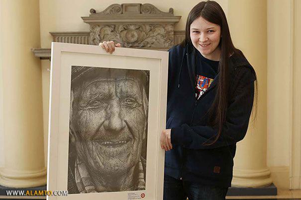 نقاشیهای شگفت انگیز نقاش 16 ساله +عکس