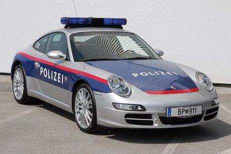 خودروی پورشه در اتریش