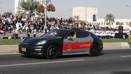 خودروی پورشه پانامرا در قطر