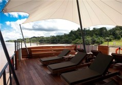 هتل 5 ستاره بر روی آبهای آمازون + عکس