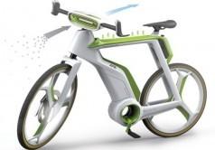 دوچرخه تصفیهکننده هوا + عکس